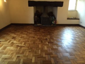 Parquet Floor - After Magic Oil 2