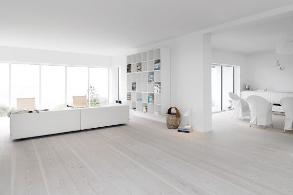 Whitewashed Wood Floor U2013 How To Get The Scandinavian Look