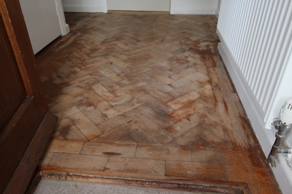 Parquet floor restoration Bath
