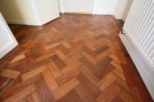 parquet floor restoration Bath - after