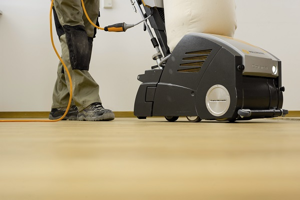 sanding engineered wood floors