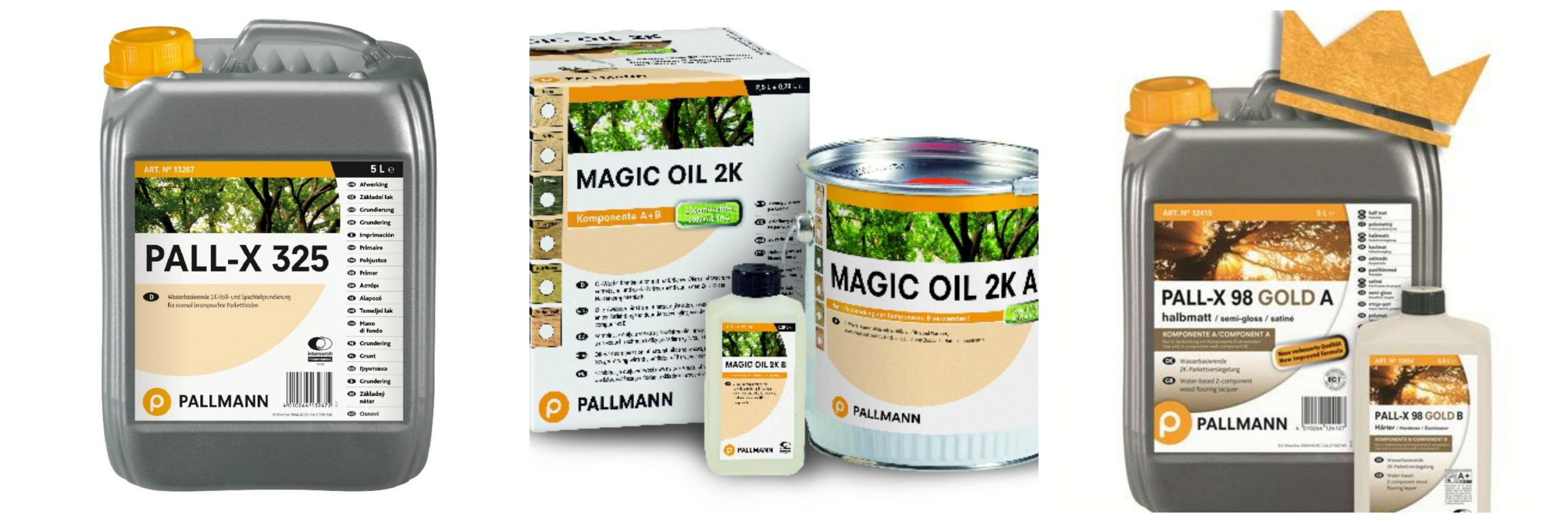 Pallmann Wood Floor Oil Range