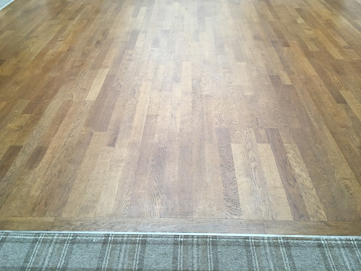 Oak dance floor repair after ultimate floor sanding for Floor sanding courses