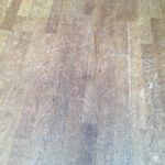 oak floor repair - before