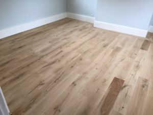 oak floor sanding Kent- before and after photos
