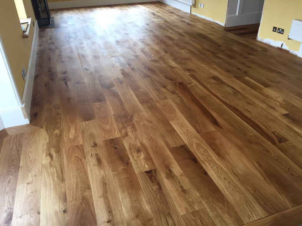 Oak floor sanding kent case study ultimate floor sanding for Floor sanding courses