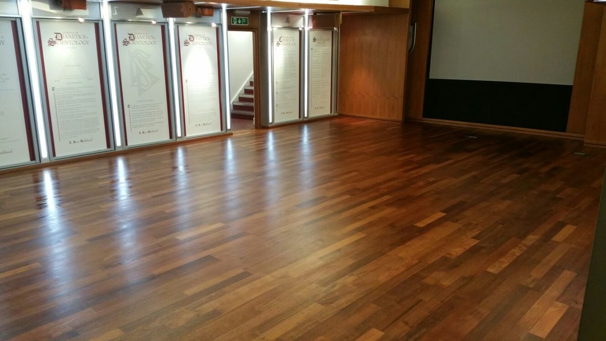 Rolin Cleaning Service Church Wood Floor Repair
