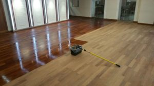Repair Church Wood Floor