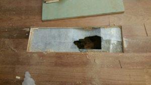 Church Wood Floor repairing