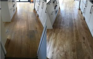 silver lining solid oak floor polishing london