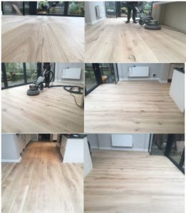 silver lining solid oak floor restoration london