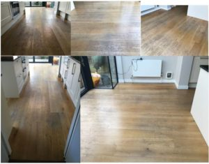 Silver Lining Floor Care floor sanding project in London