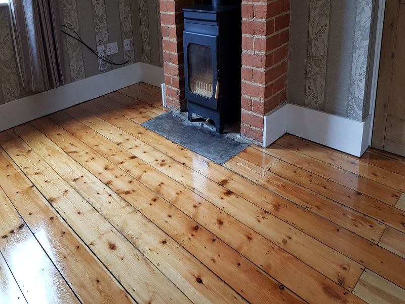 Kent Rolin Cleaning Services wood floor restoration