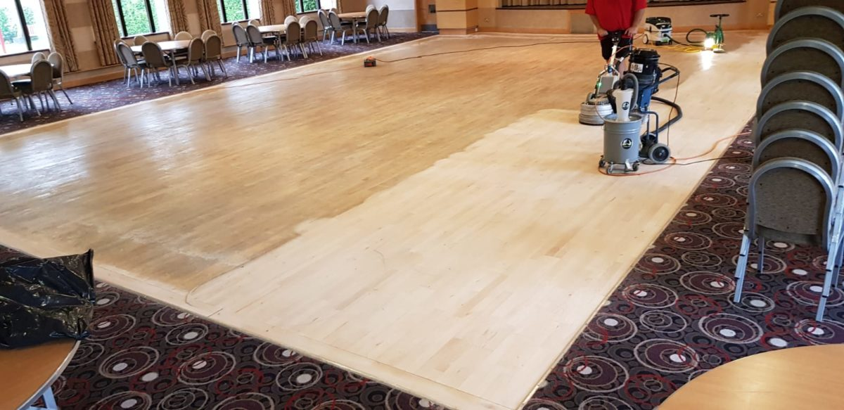 Wood Dance Floor Restoration